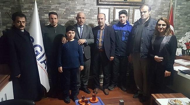 Milletvekili Ilıcalı 'da İPEKYOLUSİFED' i ziyaret etti