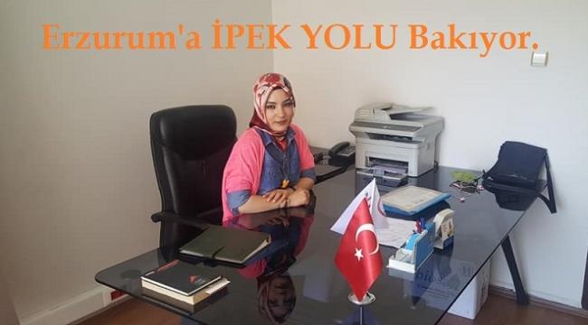 Erzurum'a İPEK YOLU Bakıyor.